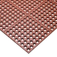 Value Series Anti-Fatigue Mat - 3 ft. x 3 ft., Interlocking, Red