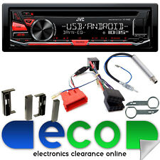 AUDI TT periodo 1998-2006 MK1 JVC CD MP3 USB AUX POSTERIORE BOSE AUTO RADIO STEREO UPGRADE KIT