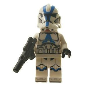 1 LEGO Minifigure  501st Legion Clone Trooper - Detailed Pattern with weapon