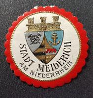 Siegelmarke Vignette Stadt Meiderich Am Niederrhein (7683-2)