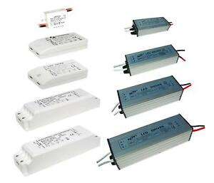 LED Driver Power Supply Transformer DC12V 20 48V Non Dim 6W, 12W, 18W, MR16 IP65