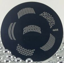 Round Nail Stamping Plates Manicure Pedicure Nail Art 44