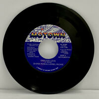 DIANA ROSS& LIONEL RICHIE- ENDLESS LOVE 45 RPM ROCK VG+ SINGLE 7 INCH (A23)