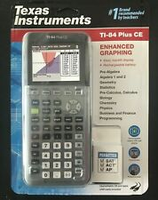 Texas Instruments TI-84 Plus CE Color Graphing Calculator Space Gray