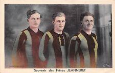 POSTCARD   SPORT   FOOTBALL   FRANCE   Souvenir  des  Freres  JEANNERET