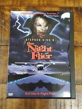 Stephen King's The Night Flier DVD Used Rare OOP Horror