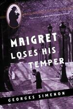 Maigret Loses His Temper Georges Simenon