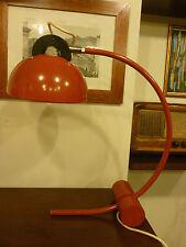 Lampada da tavolo piantana Latina vintage anni 70 ad arco design space age lamp