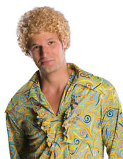 Tight Fro Blonde Wig for Adult Halloween Costume