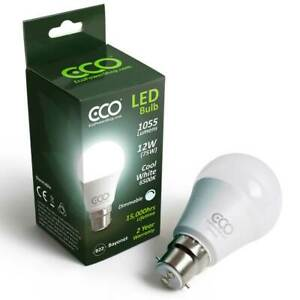 ECO 40W, 60W, 75W, 100W LED Light Bulbs, Warm or Cool, Dimmable or Non Dimmable.