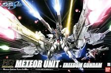 Hg Gundam Seed Meteor Unit + Freedom Gundam 1/144 Model Assembly Kit bandai