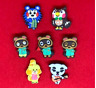 Animal Crossing Characters Shoe Charms for Crocs and Jibbitz Bracelets
