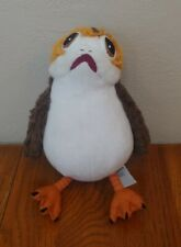 Star Wars Porg Plush Toy The Last Jedi Bird Stuffed Disney 10""