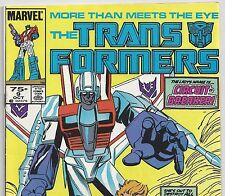 Marvel Comics The Transformers #9 with Starscream from Oct 1985 in Fine+  NS