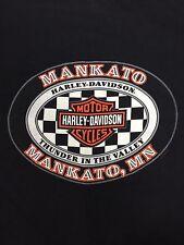 Harley Davidson Black Haines Pocket T-Shirt Mankato Mn 1999 S/M