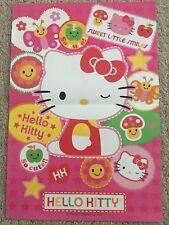 HELLO KITTY POSTER 10.5 x 15.25 1976 Sanrio So cute!! Sweet Little Smiles