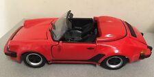 Maisto 1989 Porsche 911 Speedster Red 1:18 Scale Diecast