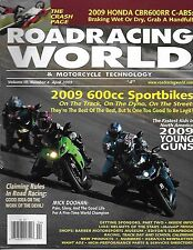 Road Racing World magazine Sports bikes Honda Mick Doohan Helmets Barber museum