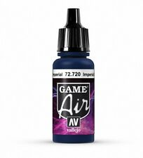 VALLEJO GAME AIR AIRBRUSH PAINT - IMPERIAL BLUE 17ML - 72.720