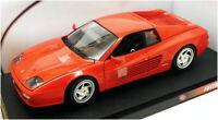 Hotwheels 1/18 Scale Model Car 29758 - Ferrari F512 M - Red