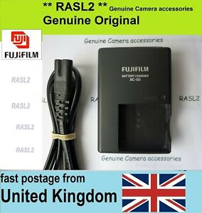 Genuine FUJIFILM BC-50 Charger For NP-50 a FinePix XF1 X20 X10 XP150 XP100 XP170