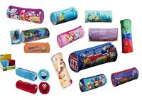 Kids Barrel Pencil Case Round Tube School Bag Pack Stationery Case  Paw Patrol.