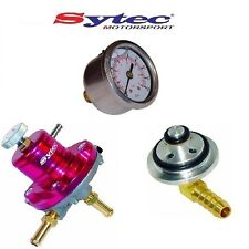 SYTEC FUEL PRESSURE REGULATOR KIT + FUEL GAUGE ROVER MGF MG ZR 218 25 414 418