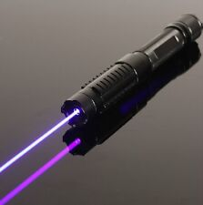 NEW 450nm Blue Most Powerful Focusable Laser Pointer Pen Burning
