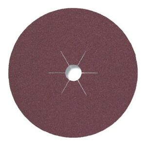 25 KLINGSPOR Fiberscheiben 115mm/125/180mm Fiberscheibe Schleifscheiben CS561