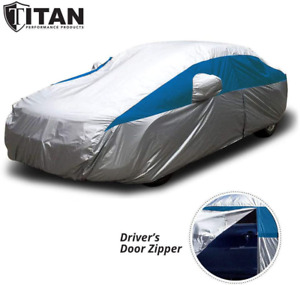 Titan Lightweight Car Cover Bondi Blue for Camry Mustang Accord and More. Wat...
