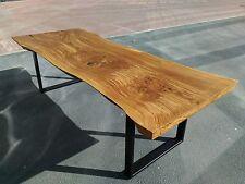 Eichetisch Küchentisch Tisch Debow 260 x 100 cm 200 Jahre alter Stamm