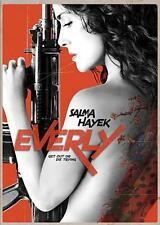 EVERLY - SALMA HAYEK - 2015 WIDESCREEN DVD - GANGSTER FILM - SHIPS NEXT DAY FAST