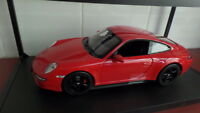 Porsche Carrera 4S Coupe in Red - by Norev 1:18 scale FREE POSTAGE AUST