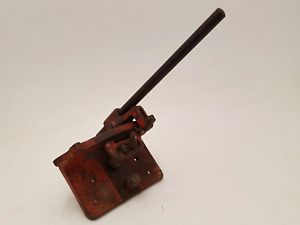 Very Nice Vintage Bench Mount Lever Guillotine V Sharp 34549