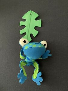 Fisher Price Rainforest Peek-A-Boo Musical Crib Mobile Replacement Blue Frog