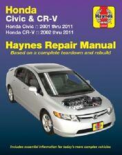 Repair Manual Haynes 42026 fits 01-10 Honda Civic