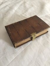 Great Antique Leather Bound The Book Of Common Prayer 1857 Brass Clasp