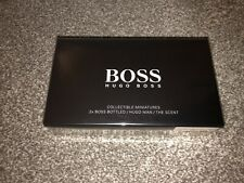 Hugo Boss Collectable Miniatures (2x Boss Bottled / Hugo Man / The Scent) New!