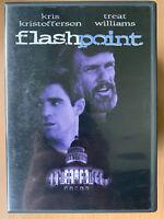 Flashpoint 1984 Texas Border Acción Suspense Clásica Raro Oop Us R1 DVD