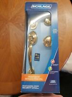 SCHLAGE SOLID FORGED BRASS PROFESSIONAL GRADE SECURITY HANDLESET KEYED ON 2 SIDE