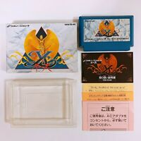 YS 1Nintendo Famicom with box and manual Japan game FC NES