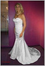 Normalgröße Brautkleider aus Polyester in Größe 38