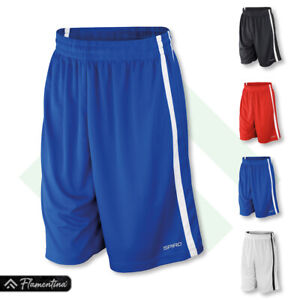 Spiro Basketball Quick-Dry Shorts Running Gym Lightweigh Fitness Sports Team