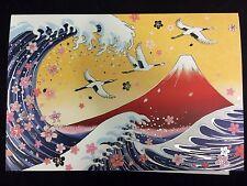 Colecciones - Postal de felicitación japonesa - Nihon - fabricado en Japón