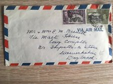 Postal History Trinidad & Tobago George VI Airmail Cover to the UK