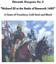 """25/28mm schermaglia FLAGS """"RICHARD III ALLA BATTAGLIA DI Bosworth"""" medievale"""