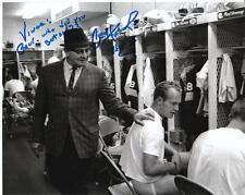 PAUL HORNUNG Autographed Signed Photo RARE INSCRIPTION! Green Bay Packers COA