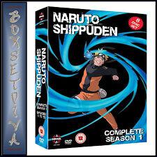NARUTO SHIPPUDEN - COMPLETE SEASON 1- EPISODES 1 - 52  **BRAND NEW DVD***