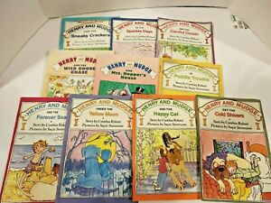 USED Lot of 10 Henry and Mudge Children's Paperback Books by Cynthia Rylant