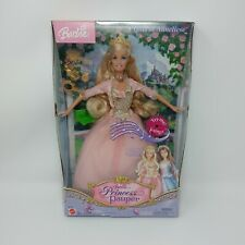New Barbie as The Princess and the Pauper ANNELIESE NRFB Singing Works Nice Box